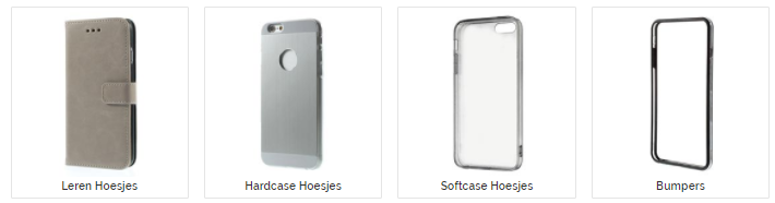 iPhone 7 hoesjes - iPhonehoesjes.nl